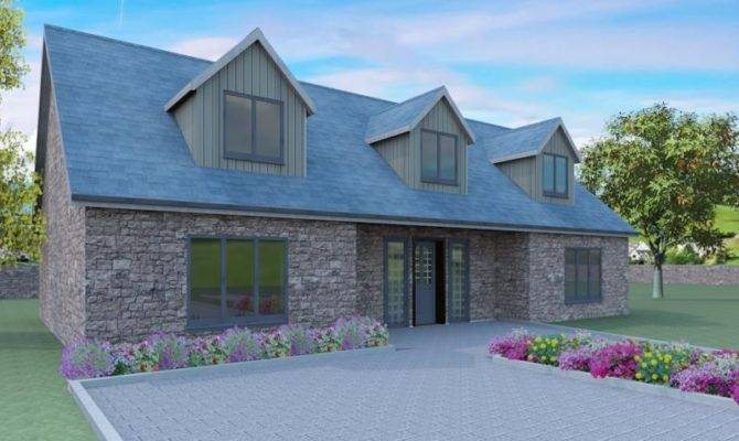 Modern Dormer Bungalow Designs Whiteley