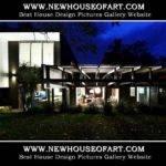 Modern Facade Design House Garage Basement