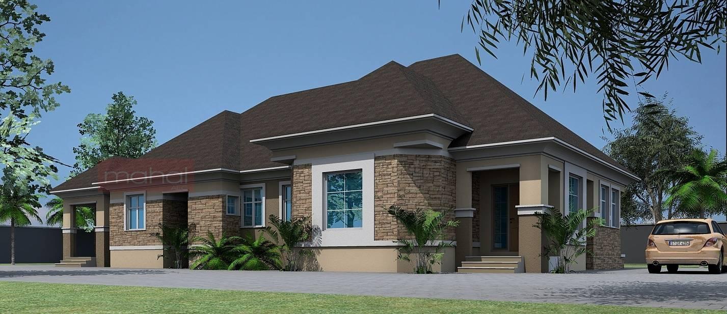 Modern Home Design Architectural Designs Bungalows Nigeria Home - Bungalow home designs
