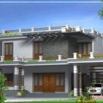 Modern Home Design Kerala April