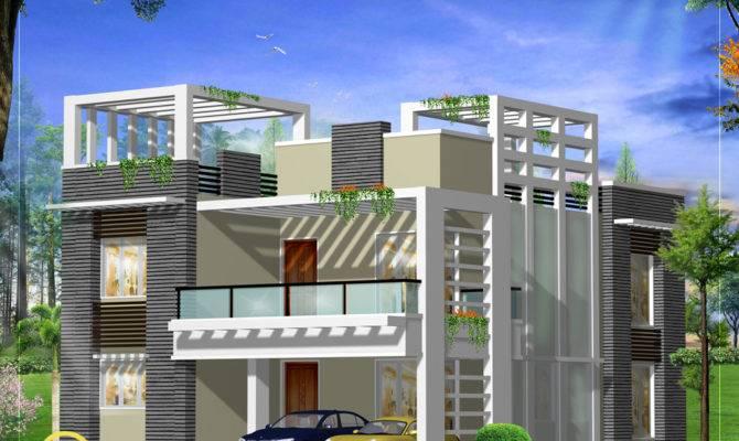 Modern Home Design Plan Kerala Floor
