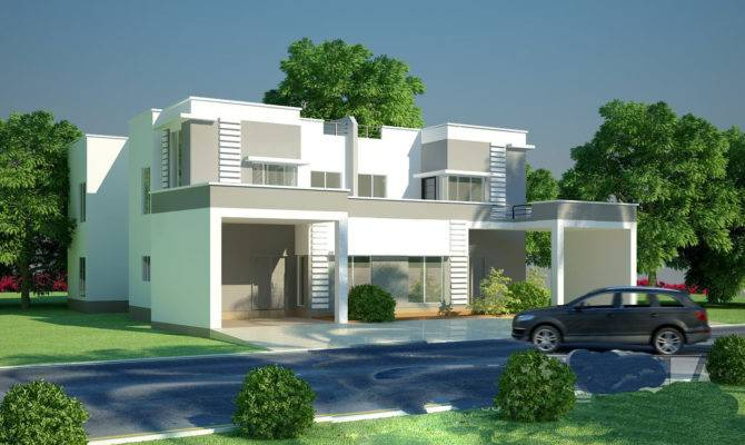 Modern Homes Beautiful Latest Exterior Designs New Home