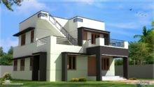 Modern House Design Feet Home Kerala Plans