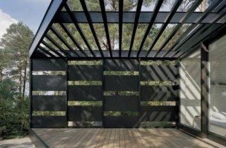 Modern House Elegant Three Angle Prism Structure Archipelago