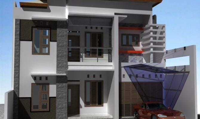 Modern House Exterior Front Designs Ideas Home