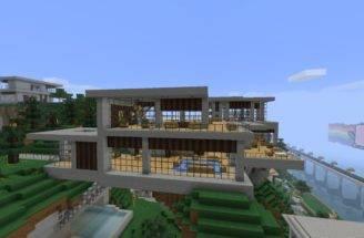 Modern House Minecraft Schematics Becuo