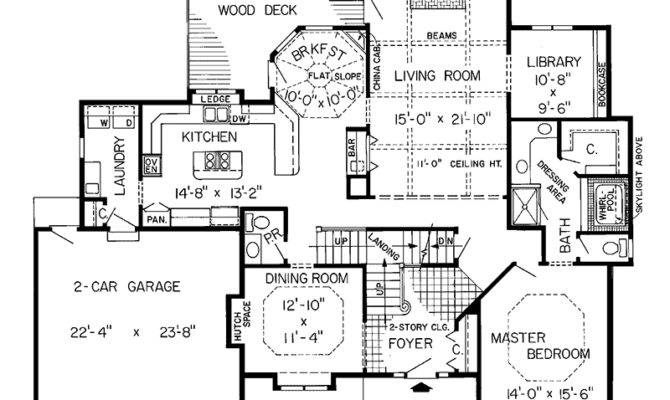 Modern House Plan First Floor Plans More
