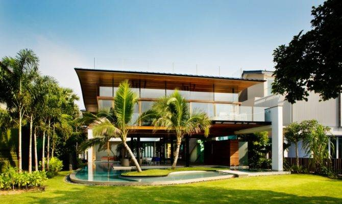 Modern Luxury Tropical House Most Beautiful Houses World