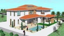 Modern Mediterranean Home Exterior Design Idea