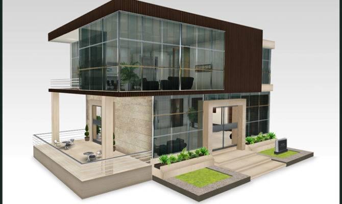 Modern Office Building Design Home Interior
