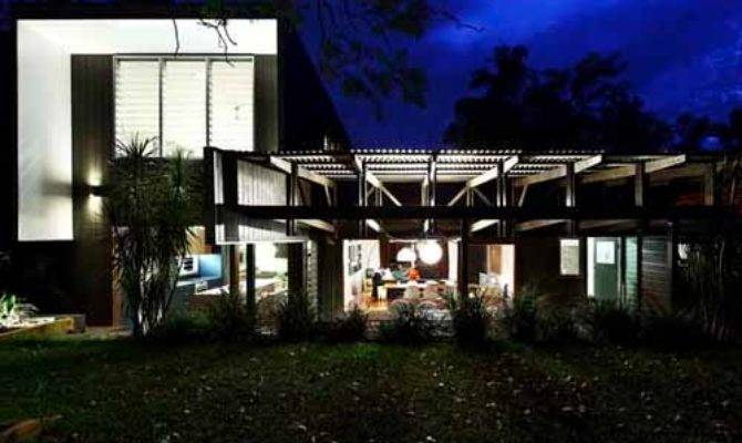 Modern Paraty Beach House Design Tropical Home Exterior Ideas