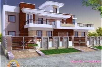 Modern Style India House Plan Interior Designs