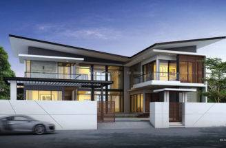 Modern Two Storey House Design Home Ideas