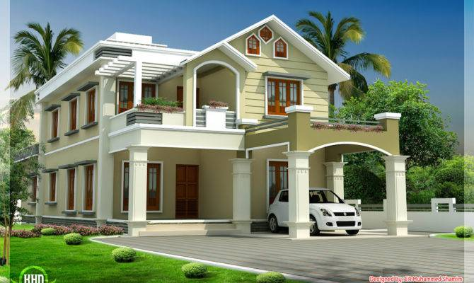 Modern Two Story House Designs Form Split Architecture