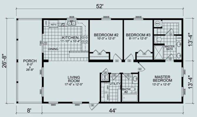 Modular Homes Feature Different Floor Plans Edroom
