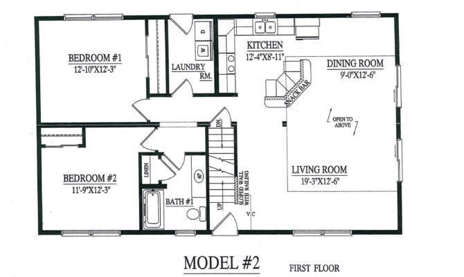 Modular Homes Open Floor Plan Good Model Cape Chalet Home