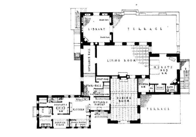 More Information Santa Barbara Mission Floor Plans Home Plans Blueprints 49873
