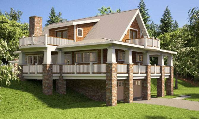 12 Unique Hillside House Plans With Walkout Basement Home Plans