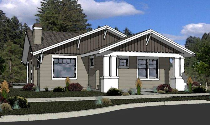 Muddy River Design Craftsman Style House Plan Bend Oregon