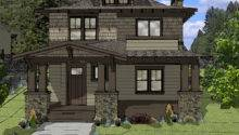 Muddy River Design Foursquare Style House Plan Northwest