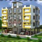 Multi Storey Residential Buildings Front Elevation Design