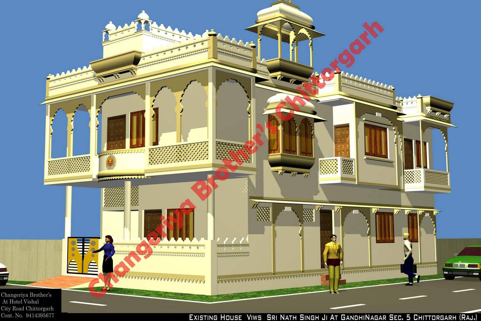 Home Design Rajasthan - HomeRiview