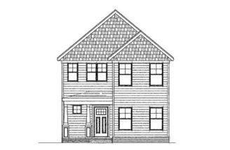 Narrow Lot Home Plans Two Story House Plan