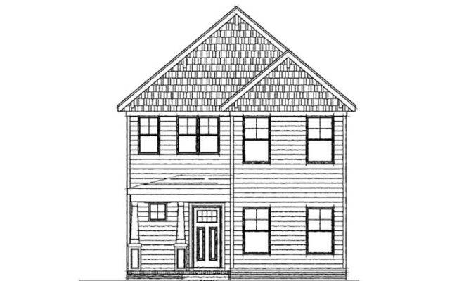 narrow lot house plans two story ideas photo gallery