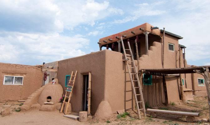 Native American Adobe House Taos Pueblo