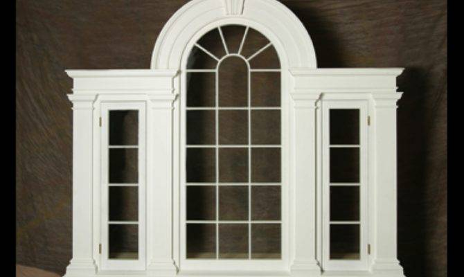 Neoclassical Palladian Window
