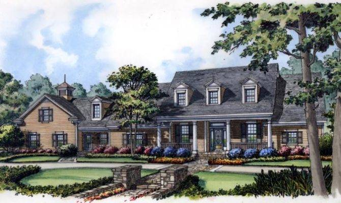 New Colonial Cape Cod House Plan Home Plans Blog