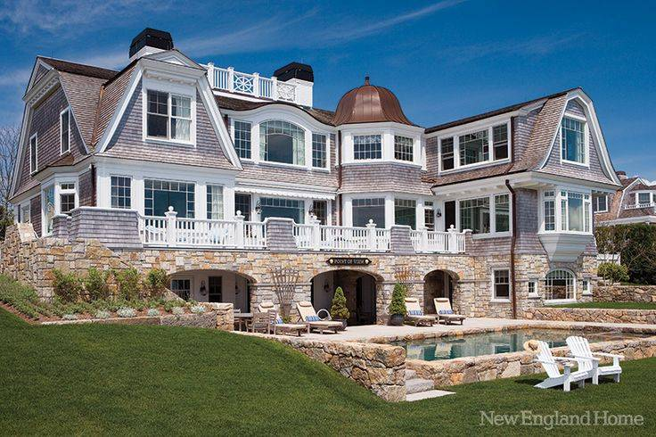New England Style Beach Home Plans