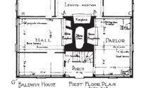 New England Saltbox House Plans Car