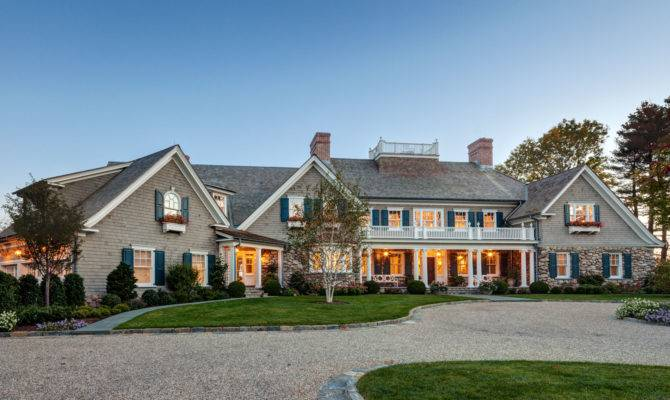 New England Shingle Style Residence Charles Hilton Architects