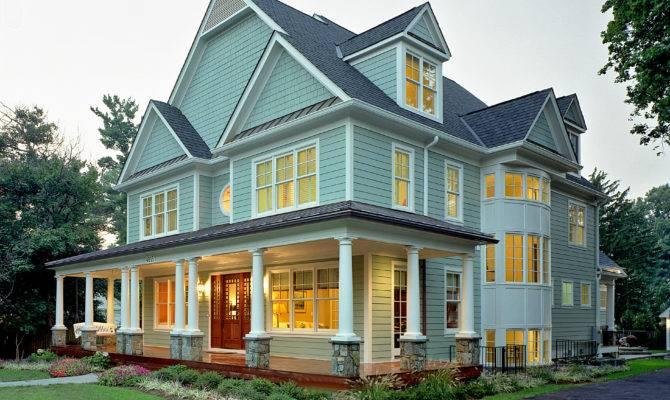 New Home Built Farmhouse Style Kensington Additions