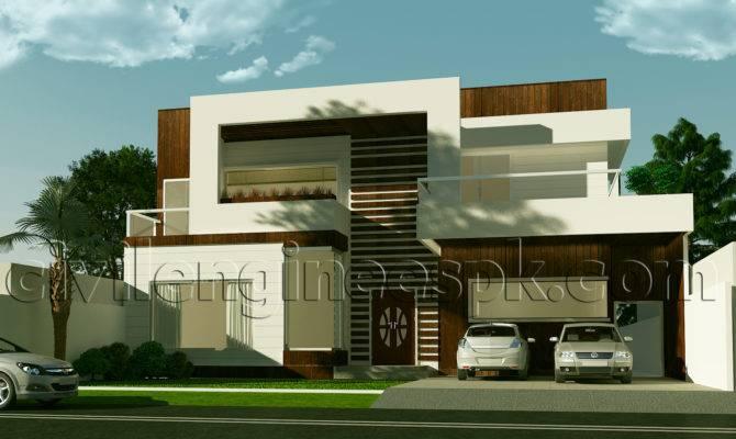 New Kanal House Plan Civil Engineers