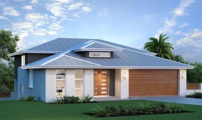 New South Wales Laguna Split Level Home