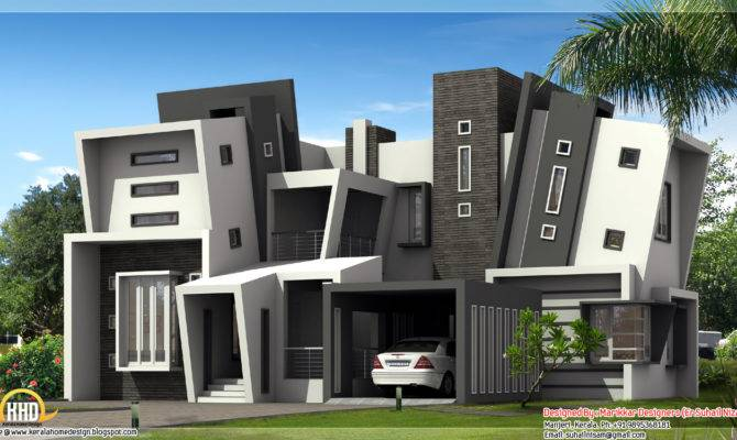 Next Gen Ultra Modern House Plan Kerala Home Design