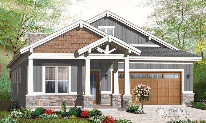 Nice Craftsman Bungalow Bedrooms Baths Car Garage