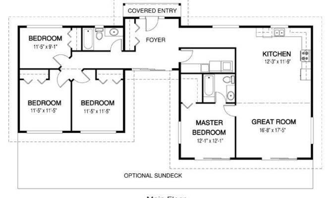 Nice Small House Floor Plan Live Pinterest