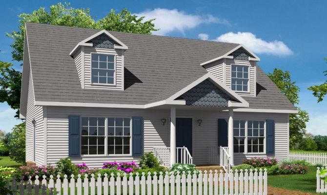 Northampton Cape Style Modular Homes