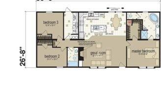 Office Designs Master Bedroom Great Room Home Floor Plans