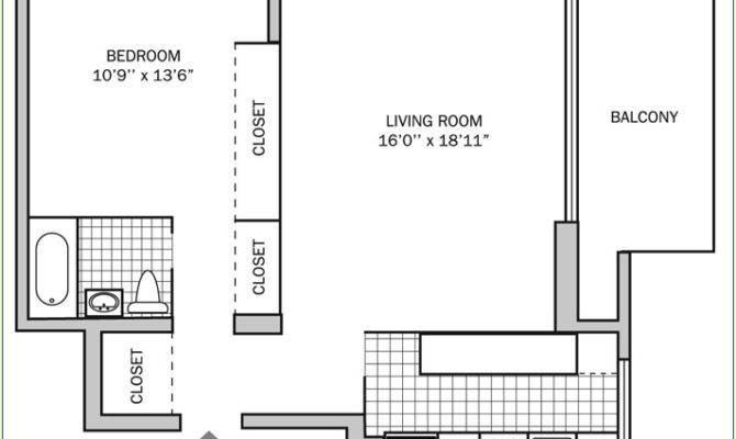 One Bedroom Bath Square Feet