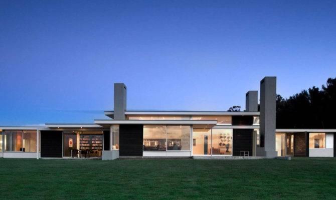 One Storey House Plan Dark Iron Walls Martinborough