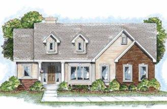 One Story Cottage House Plans Furthermore Small
