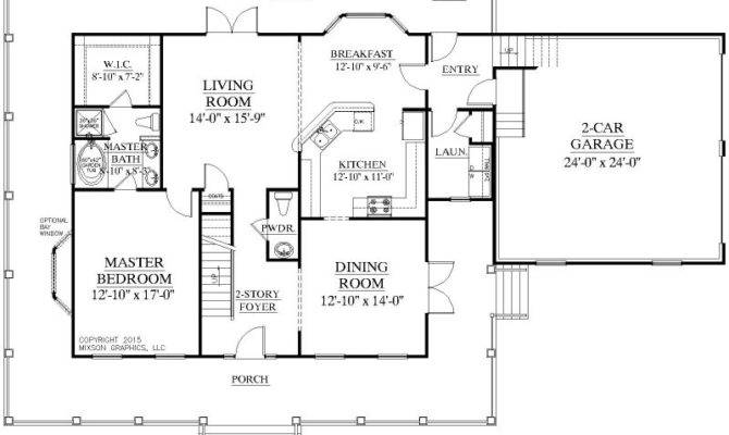 One Story Floor Plans Two Master Suites
