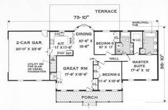 One Story Home Floor Plans Find House