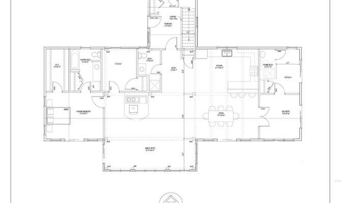 One Story House Plan Offers Nice Floor Just Under