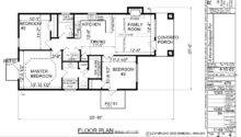 One Story House Plans Home Floor