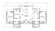 One Story Three Bedroom House Plans Design Bedrooms